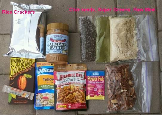 Arizona Trail Azt Beardohs Food List Long Distance Hiker