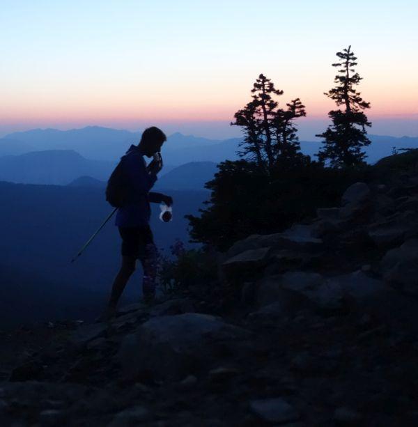Joseph McConaughy Record Long Trail