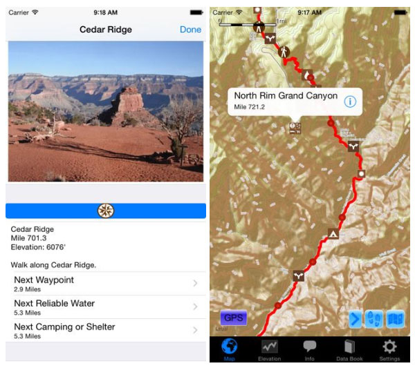 Arizona Trail App