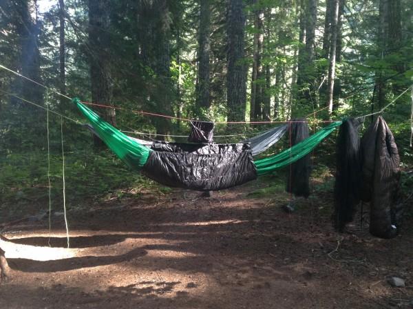 Maple Creek Campsite on The Wonderland Trail