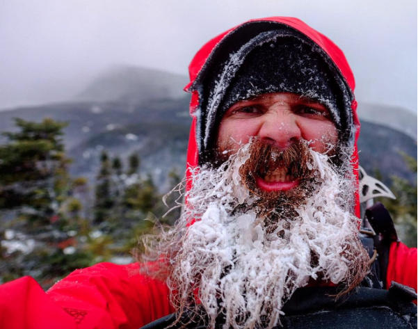 Beard-cycles on the Appalachian Trail