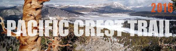 Pacific Crest Trail Photos 2016